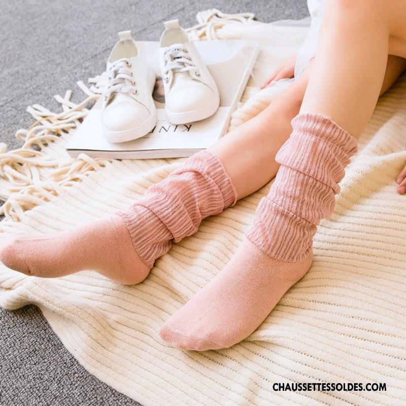 Bas Bas De Soie Fille Princesse Été Printemps Enfant Chaussette Yarn Net Blanc