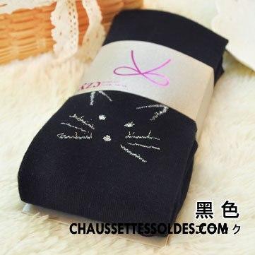 Collant Femme Tous Les Assortis Collant Panty Petit L'automne Chaussette Brodé
