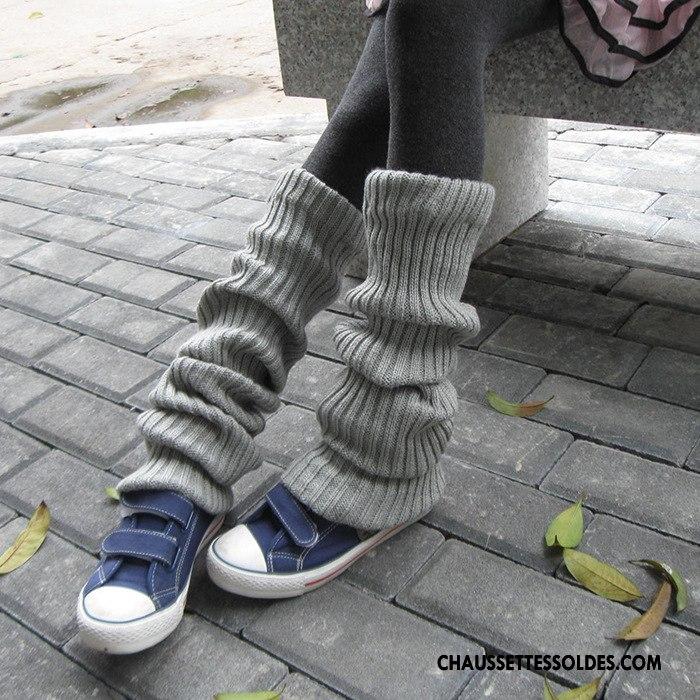 Guêtres Femme Leggings Chaussette Hiver Longue Yoga L'automne Rose